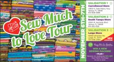 Sew Much to Love Tour TICKET